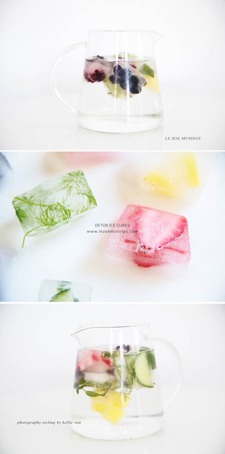 Detox Ice Cubes by Le Zoe Musings 5