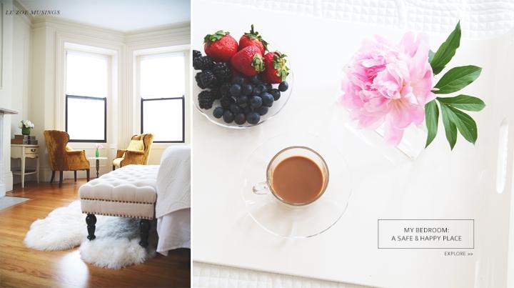 My bedroom tidbits by Le Zoe Musings Banner