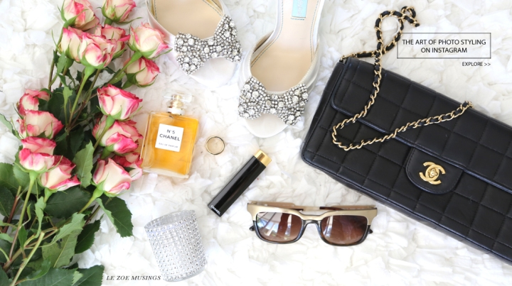 THE ART OF PHOTO STYLING ON INSTAGRAM BY LE ZOE MUSINGS