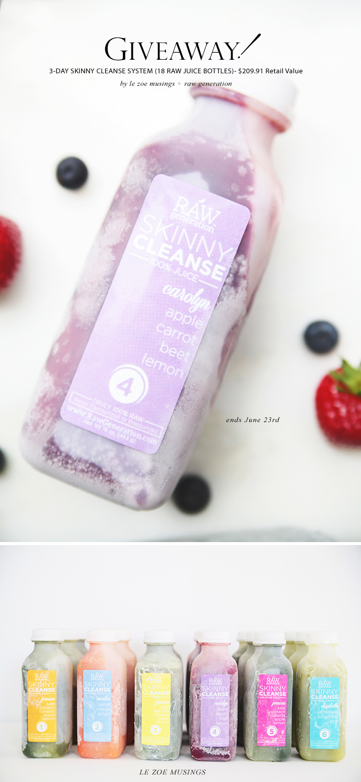 THE SKINNY CLEANSE BY LE ZOE MUSINGS 3