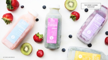THE SKINNY CLEANSE by LE ZOE MUSINGS BANNER