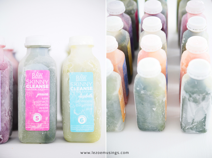 THE SKINNY CLEANSE BY LE ZOE MUSINGS