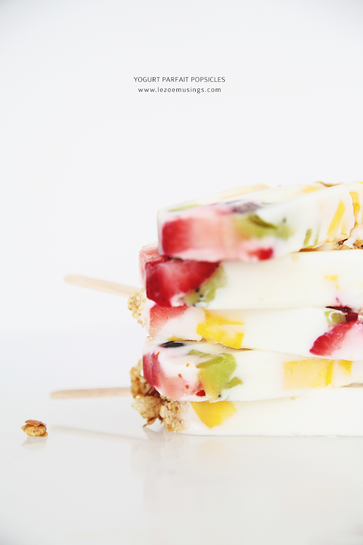 Yogurt Parfait Popsicles by Le Zoe Musings 5