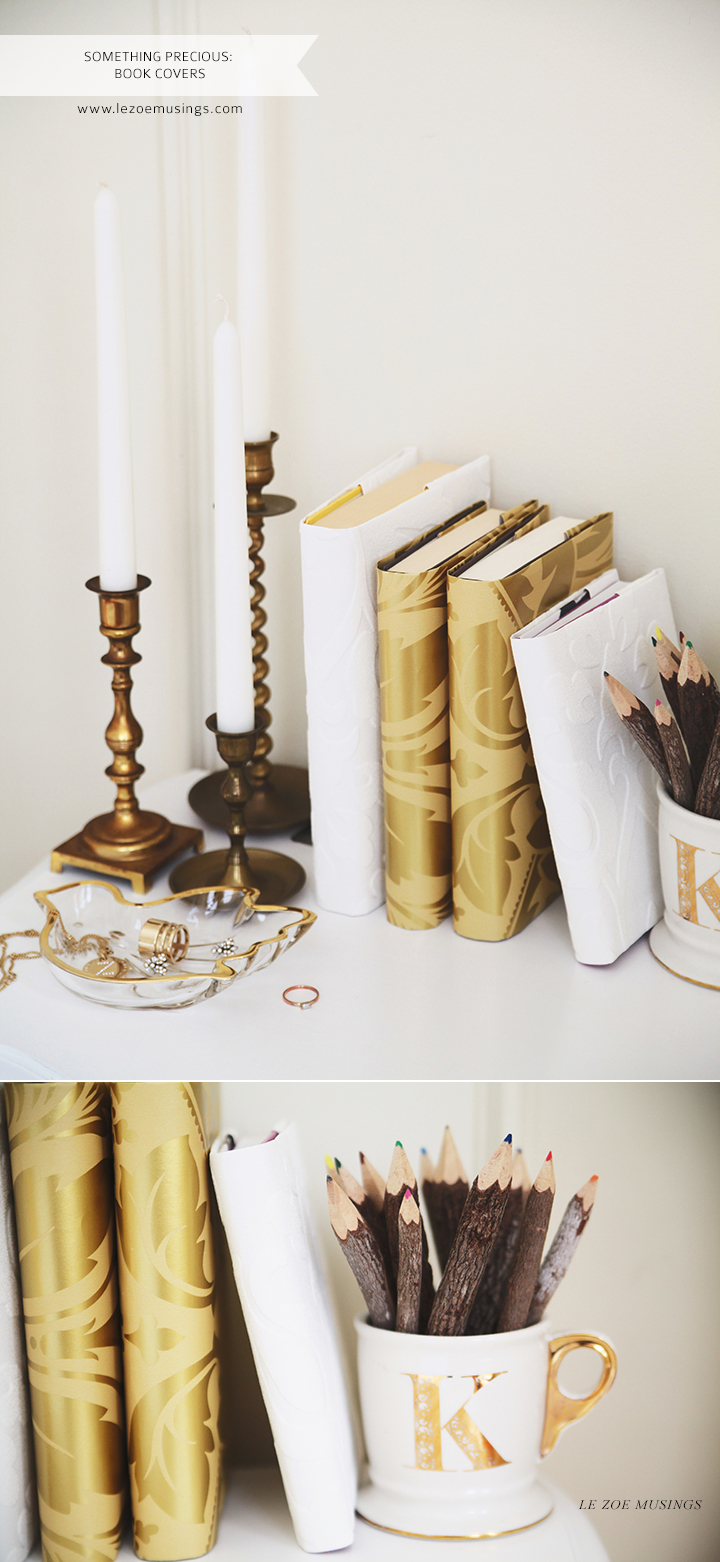 Book Covers Decor by Le Zoe Musings
