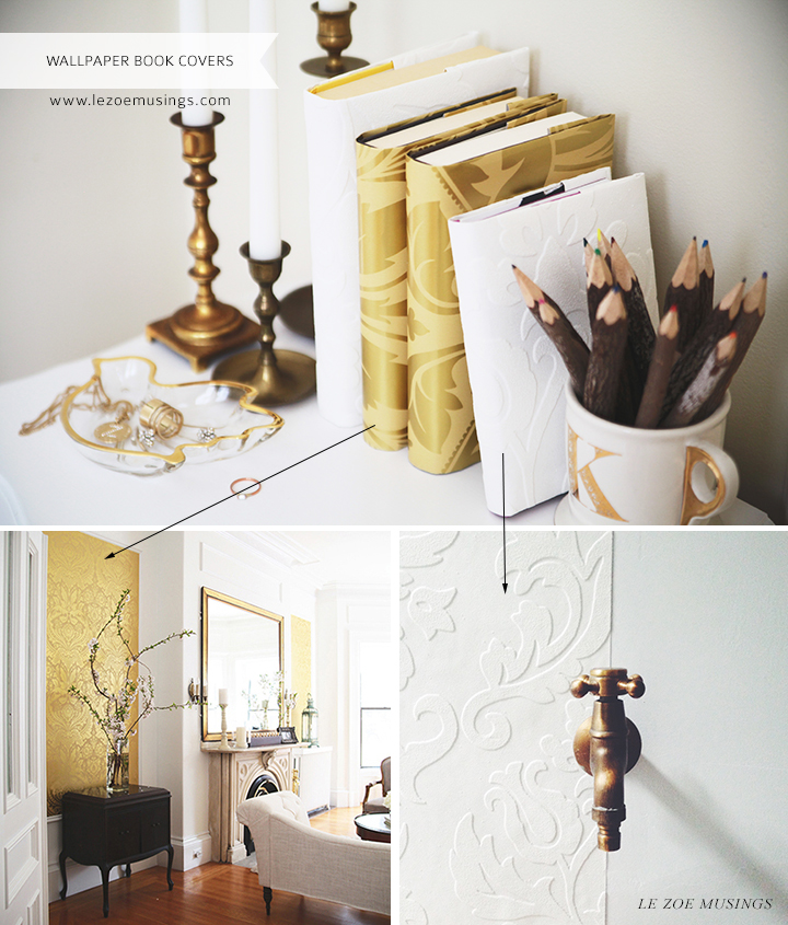 Book Covers Decor by Le Zoe Musings3