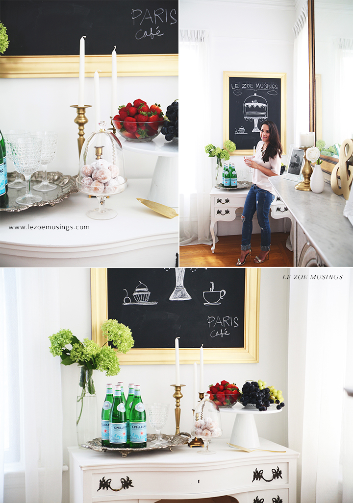 Buffet Table Makeover by Le Zoe Musings 5