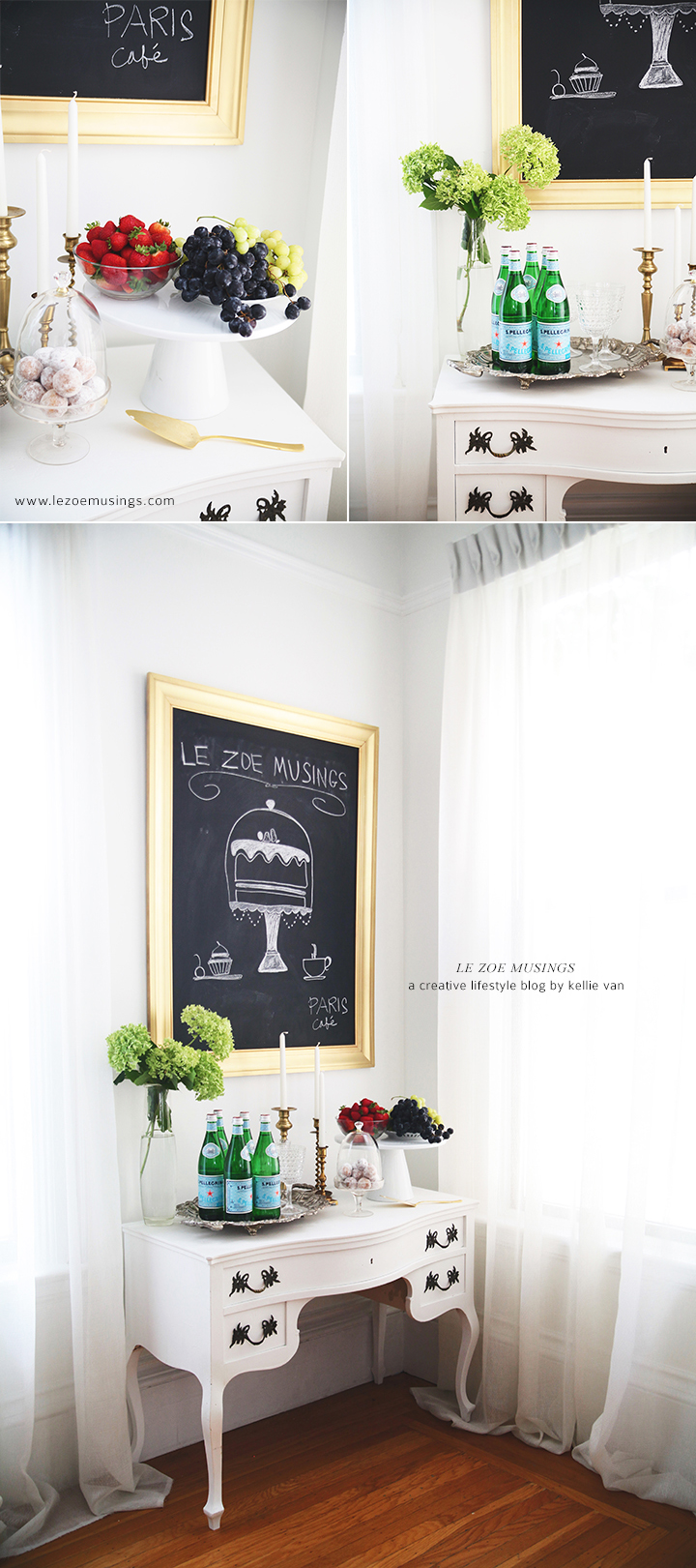 Buffet Table Makeover by Le Zoe Musings 7