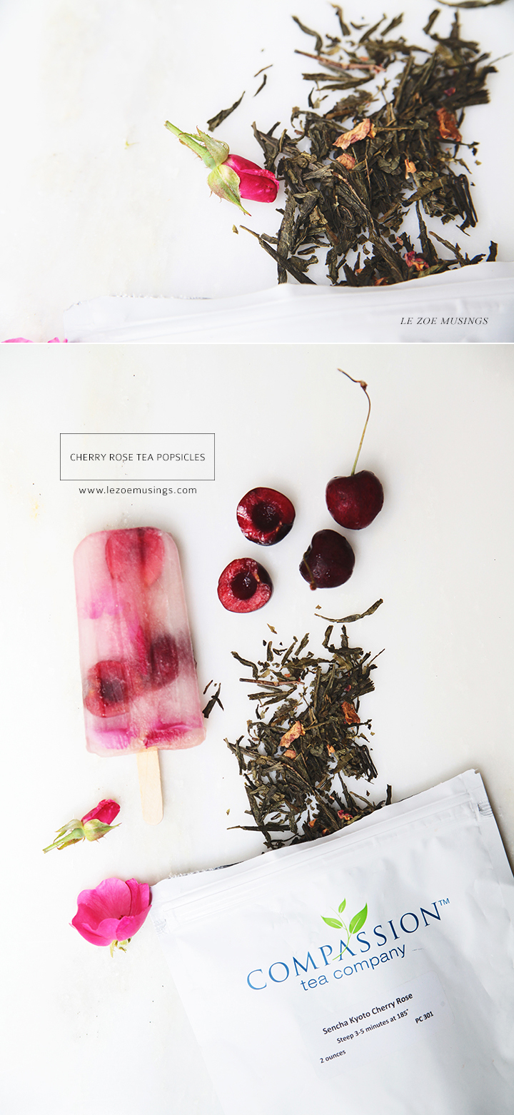 Cherry Rose Tea Popsicles by Le Zoe Musings2