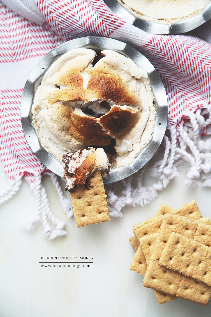 Indoor S'mores by Le Zoe Musings