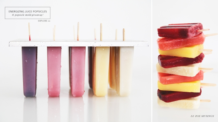 Juice Popsicle by Le Zoe Musings Banner