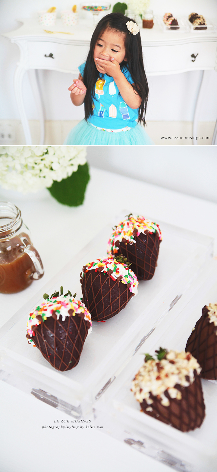 Mini Sundae Bar by Le Zoe Musings 4