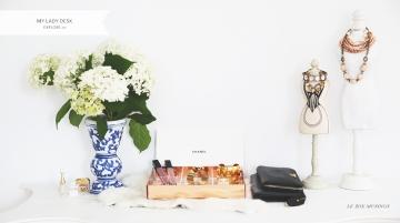 My Lady Desk by Le Zoe Musings Banner