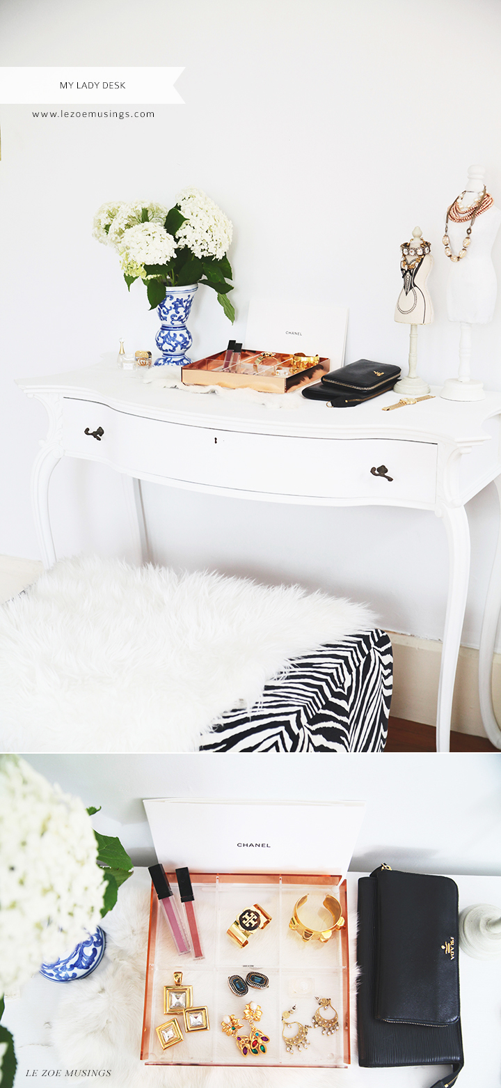 My Lady Desk by Le Zoe Musings
