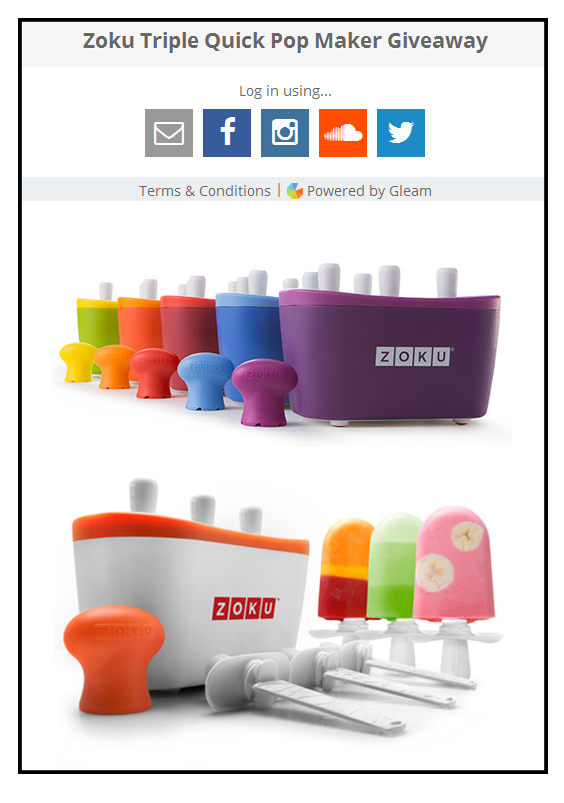 Zoku Popiscle Maker Giveaway by Le Zoe Musings2