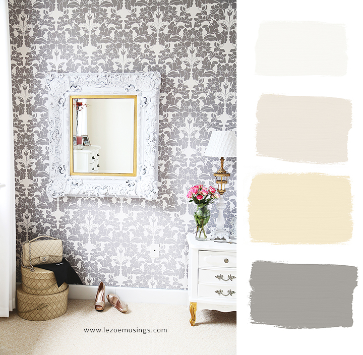 Bedroom Makeover with Wallpaper by Le Zoe Musings9
