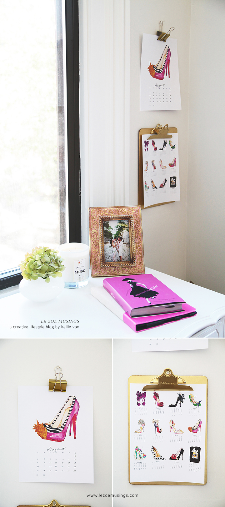 Fancy Shoes in the Home Office by Le Zoe Musings 3