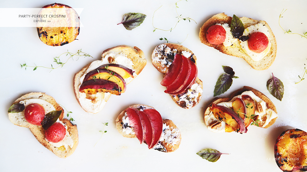 Party-Perfect Crostini by Le Zoe Musings