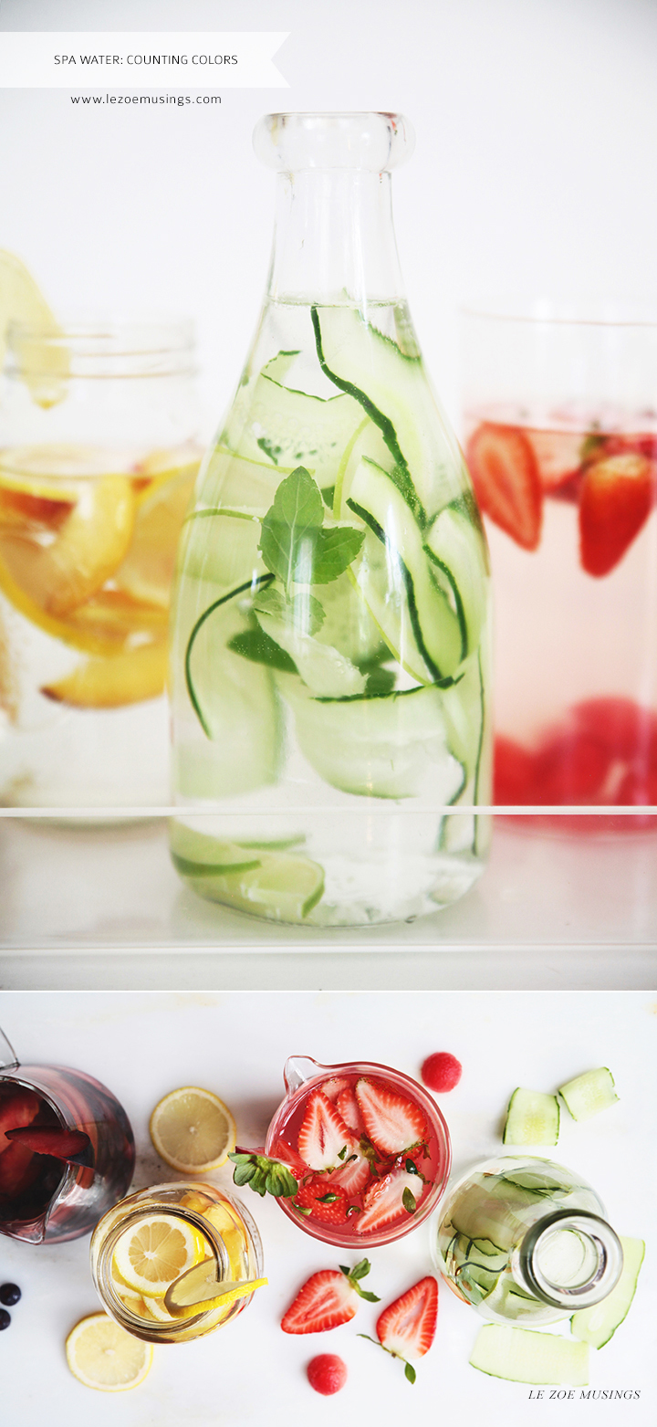 Spa Water Health Benefits by Le Zoe Musings 5
