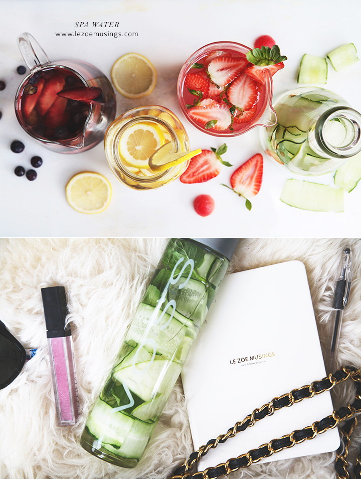 Spa Water To-Go by Le Zoe Musings 2