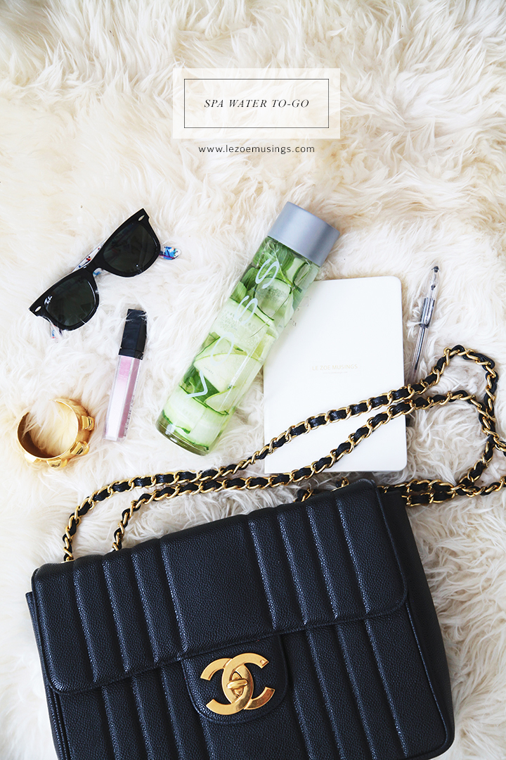 Spa Water To-Go by Le Zoe Musings