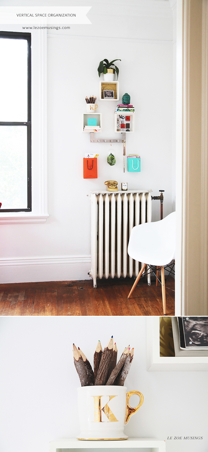 Vertical Space Organization by Le Zoe Musings