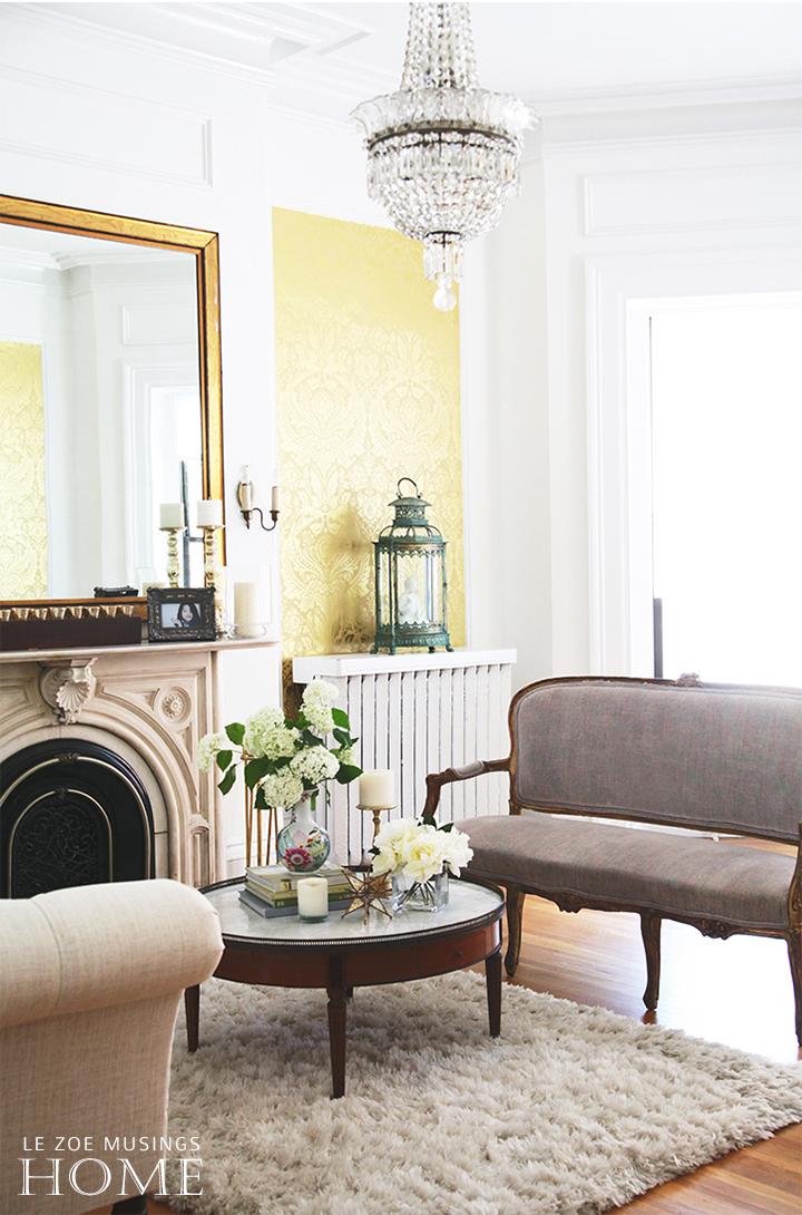 Fireplace Mantel by Le Zoe Musings