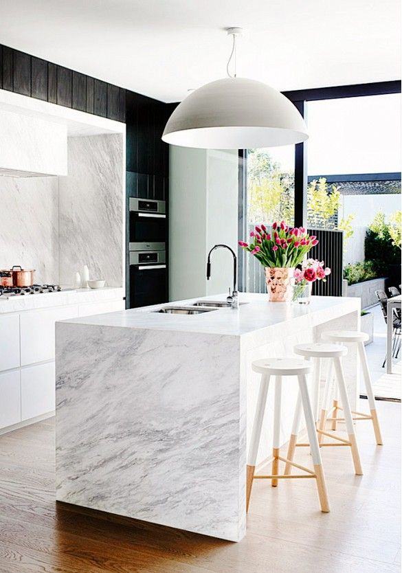 Kitchen Marble Top Twelve gorgeous kitchen marble countertops marble kitchen 8 sisterspd