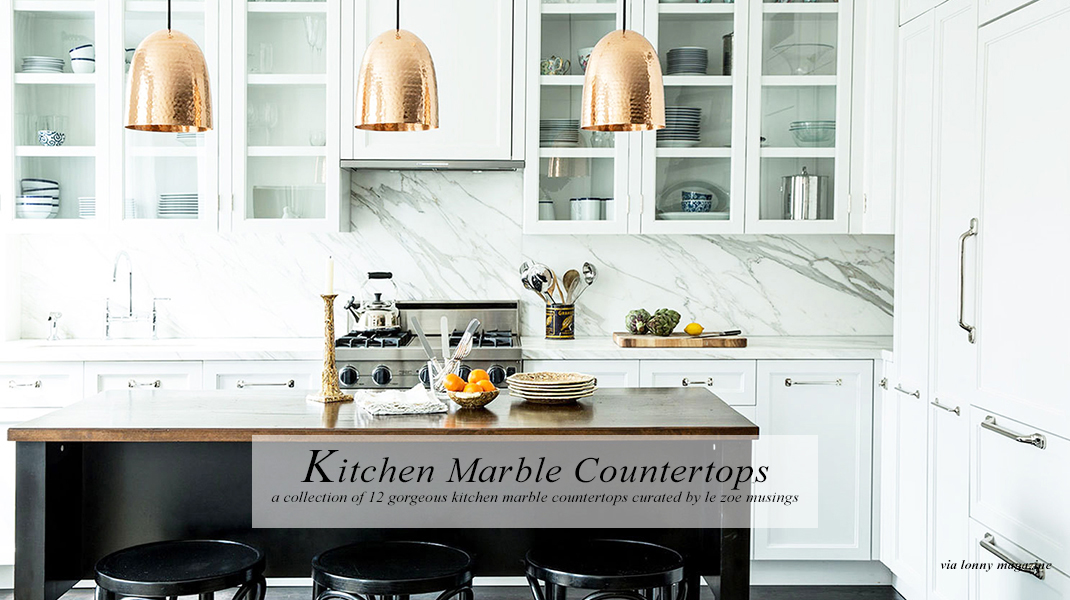 Marble Kitchen Banner