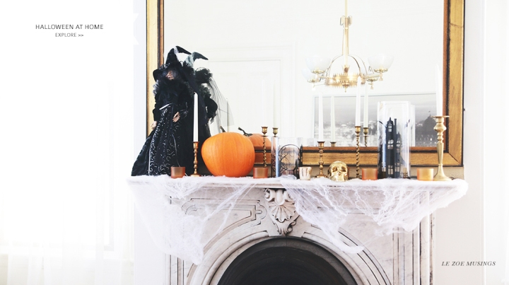 Halloween at Home_Le Zoe Musings_Banner