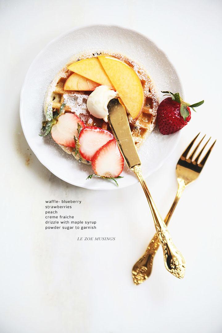 Waffle Two Ways_Le Zoe Musings 4