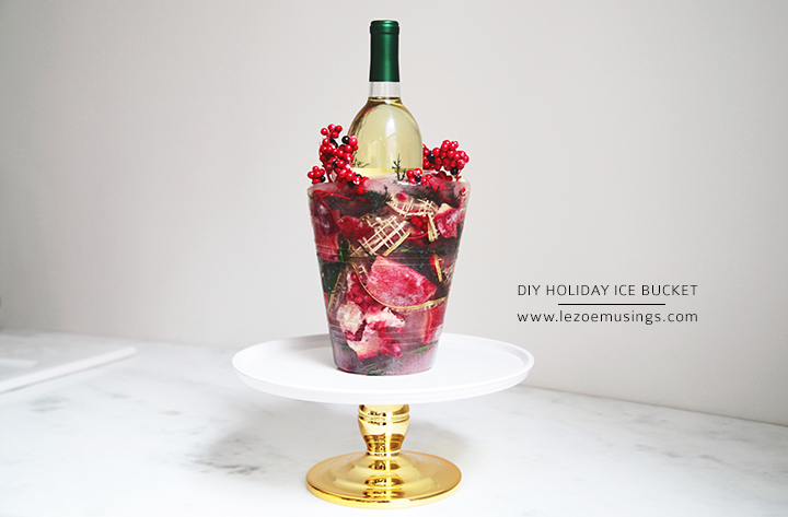 DIY Holiday Ice Bucket by Le Zoe Musings6
