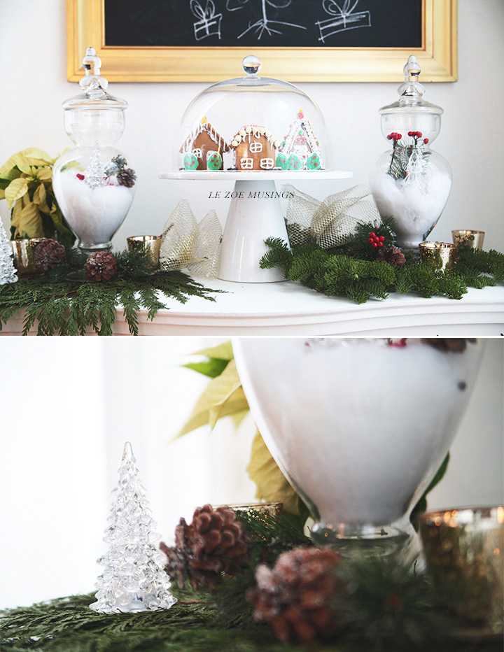 DIY Snow Globe Village by Le Zoe Musings2