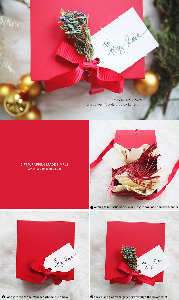 Gift Wrapping Made Simple by Le Zoe Musings2
