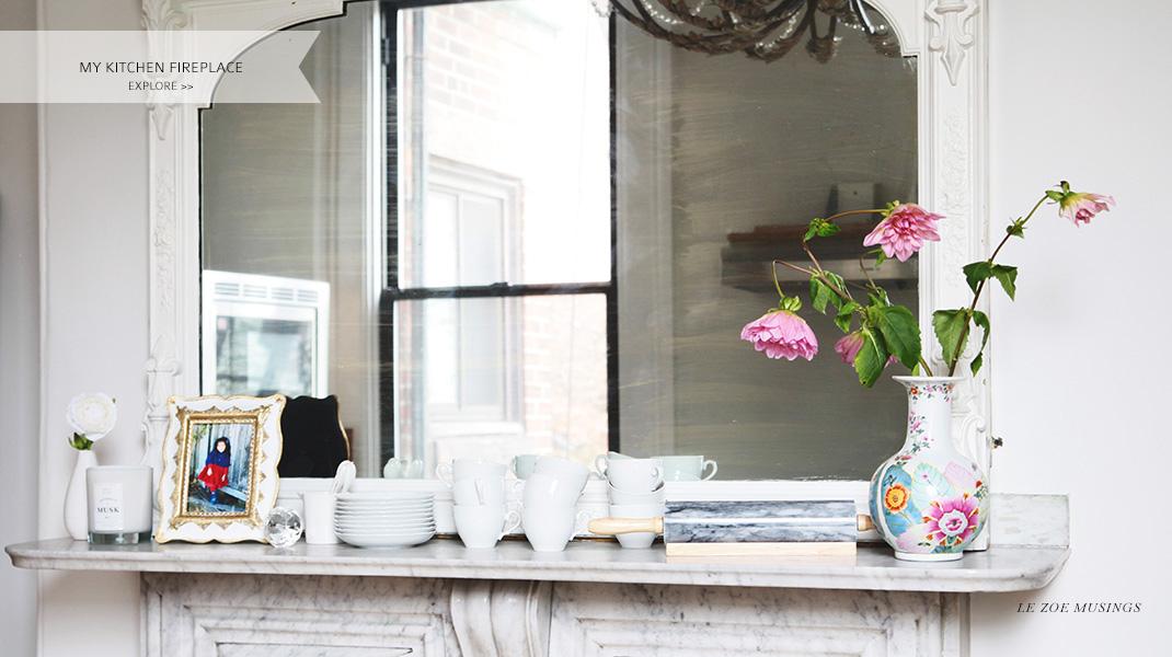 Kitchen Mantel by Le Zoe Musings
