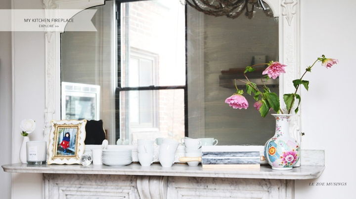Kitchen Mantel by Le Zoe Musings
