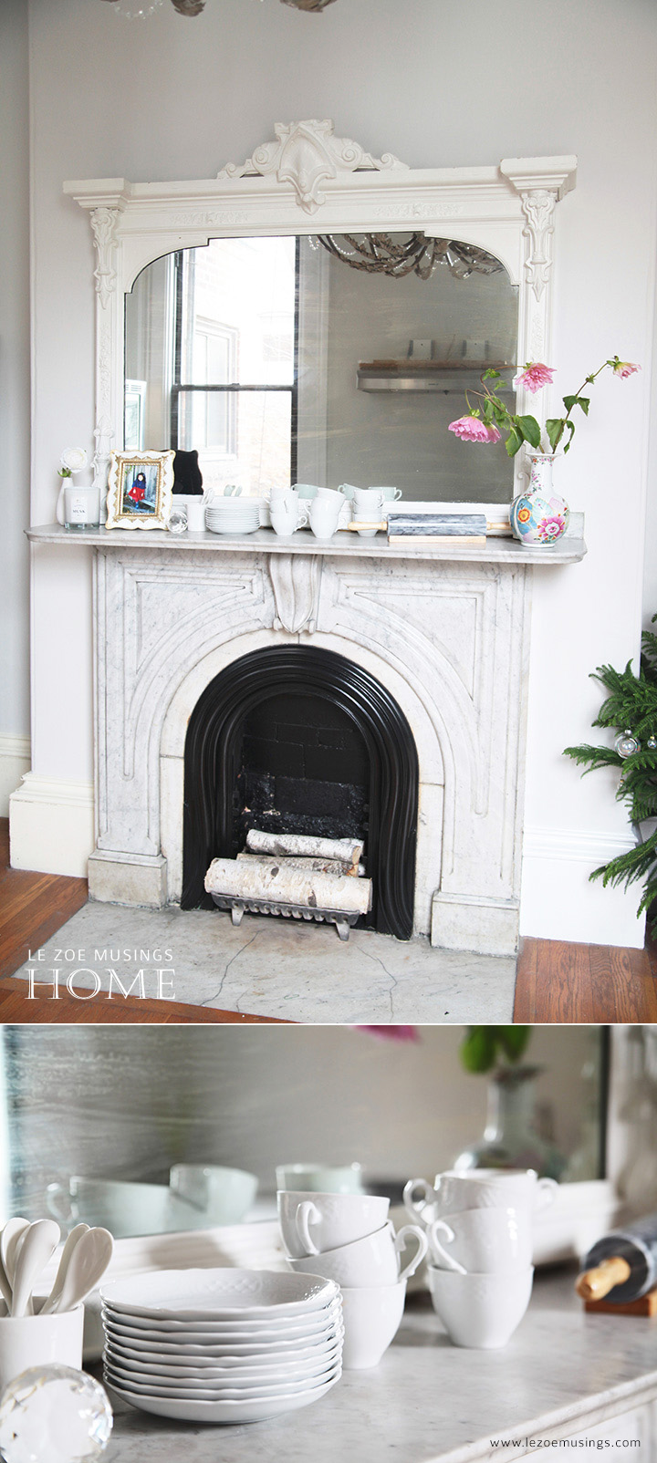 Kitchen Mantel by Le Zoe Musings3