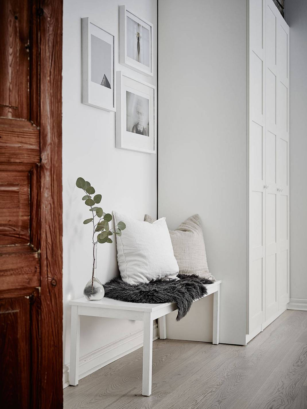 All White Swedish Apartment 15