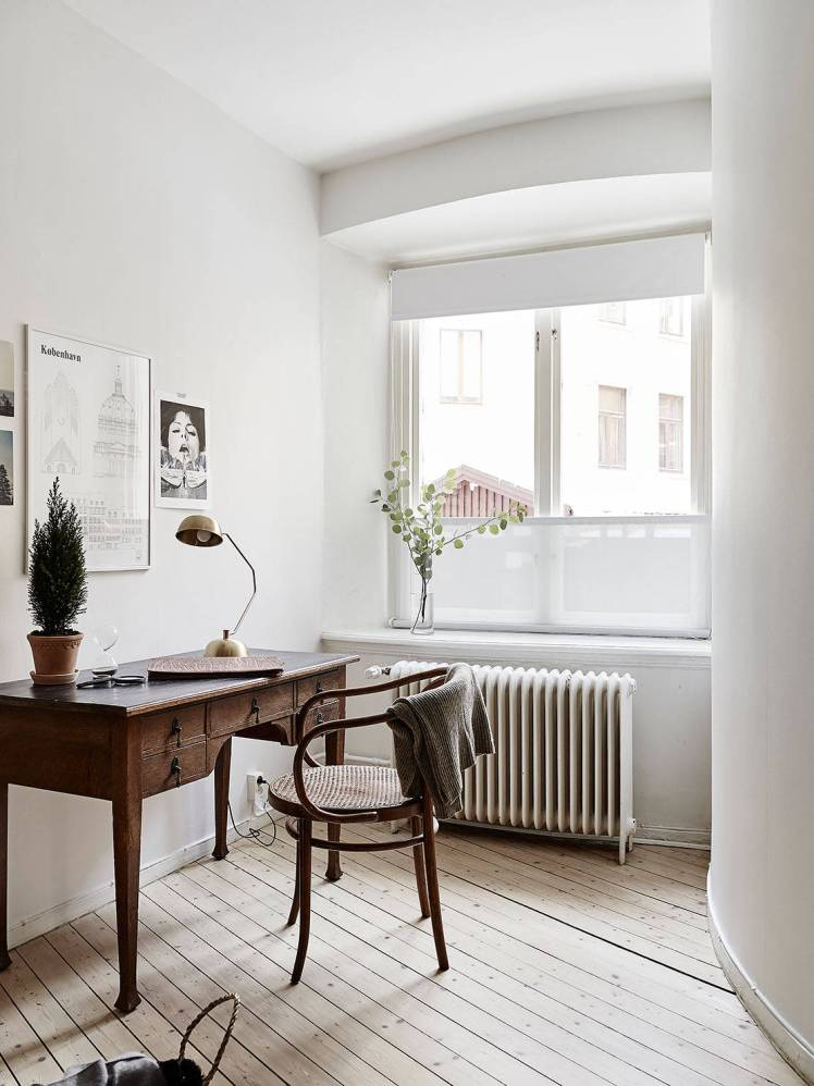 All White Swedish Apartment 17