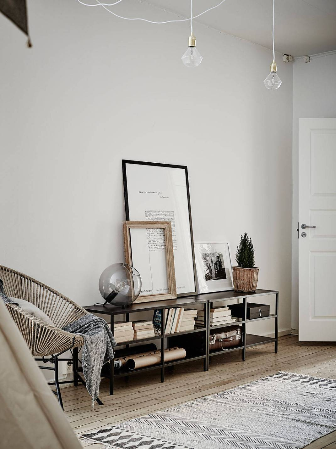 All White Swedish Apartment 19