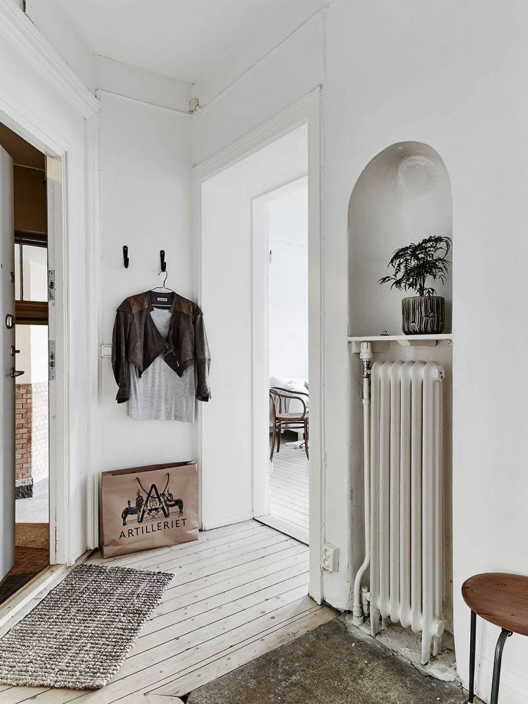 All White Swedish Apartment 22
