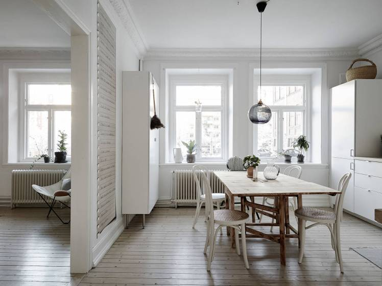 All White Swedish Apartment 4