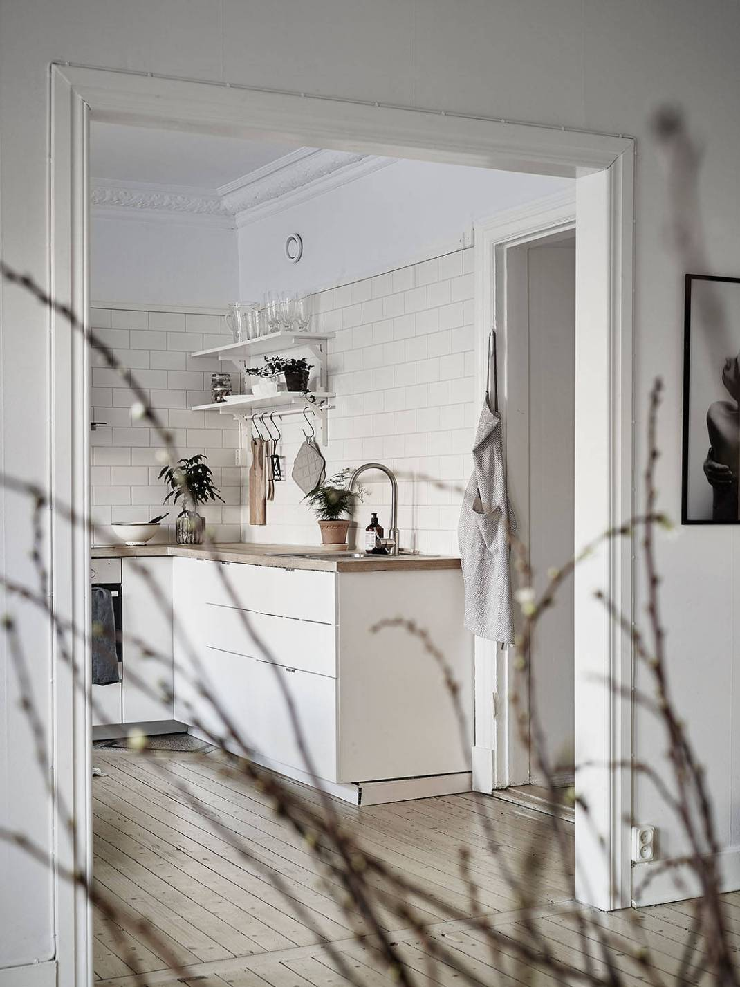 All White Swedish Apartment 5