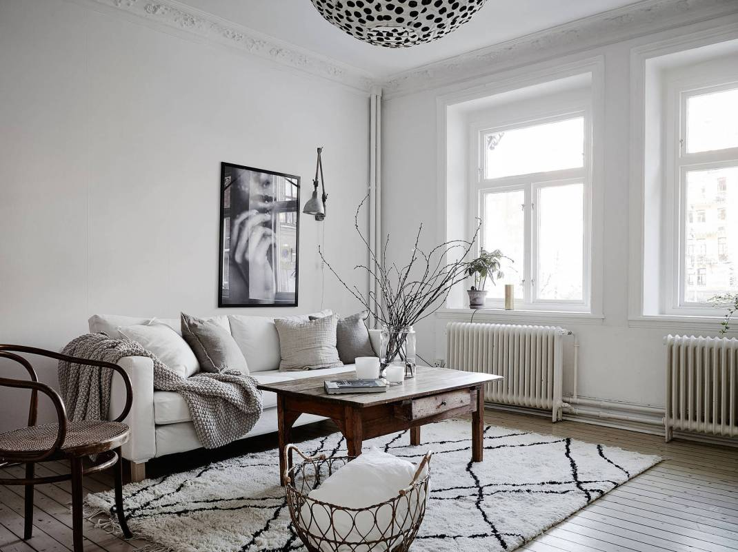 All White Swedish Apartment 6