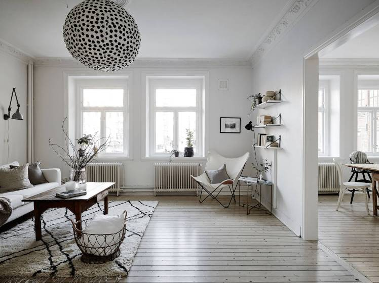 All White Swedish Apartment 7