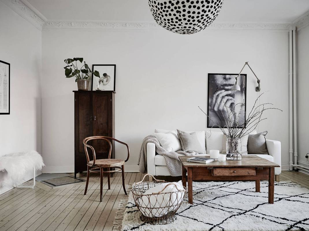 All White Swedish Apartment 9