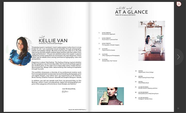 Kellie Van_Le Zoe Musings_Portfolio