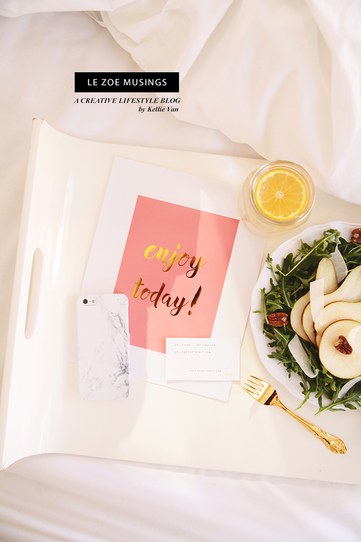 Pear Salad_Breakfast in Bed by Le Zoe Musings4