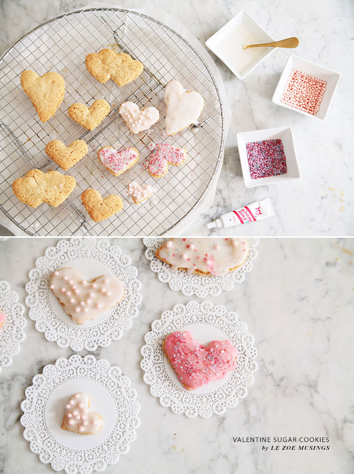 Valentine Sugar Cookies by Le Zoe Musings3
