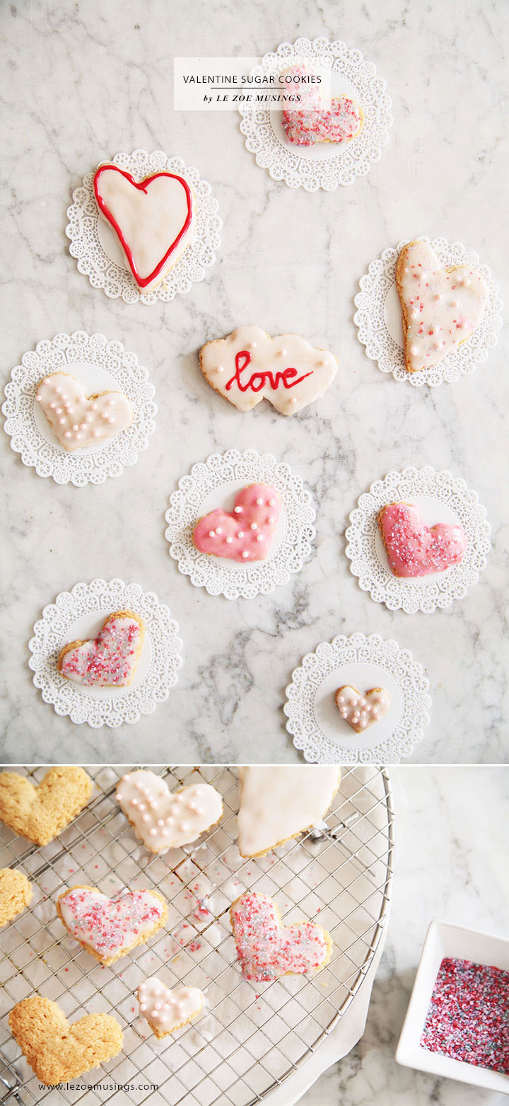 Valentine Sugar Cookies by Le Zoe Musings5