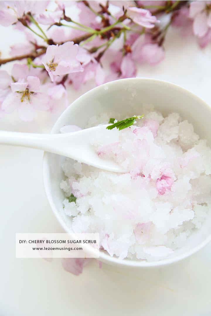 Cherry Blossom Sugar Scrub_Le Zoe Musings 2